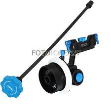 FOTGA DP500 II Dampen Follow Focus + Whip Speed Crank for 15mm rod 5D III 7D D90