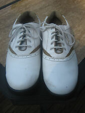WOMEN'S FOOTJOY GREENJOYS GOLF SHOES SIZE 9M-GREAT USED CONDITION-TAKE A LOOK!