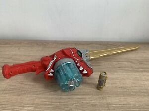 Power Rangers Dino Charge Dx Dino Super Drive Spin Sword+ #SD SuperDrive Charger
