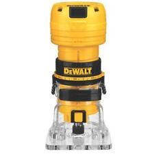 "DeWALT DWE6000 1/4"" Collet Single Speed Laminate Trimmer Cutter - Electric"