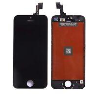 ECRAN LCD +VITRE TACTILE COMPLET ASSEMBLÉ SUR CHASSIS IPHONE 5S NOIR+OUTIL