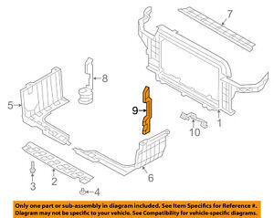 HYUNDAI OEM 14-16 Veloster Radiator Core Support-Air Guide Left 291362V600