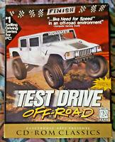 Test Drive Off-Road EA Electronic Arts Big Box PC Game CD-ROM Classics