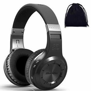 Bluedio HT Turbine Wireless Bluetooth 5.0 Stereo Headphones With Mic Black New