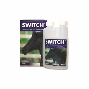 VETPLUS SWITCH Lotion for Horses FLY & SWEETITCH CONTROL 250ml BEST PRICE!!