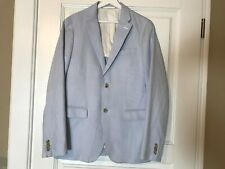 Mens Blue White Colors Light Weight Blazer Jacket Size M From UNI OLO
