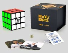 Moyu WeiLong GTS V2 3x3 Magnetic Magic Cube Twisty Puzzle Funny Toys Black