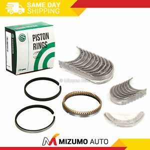 Piston Rings Main Rod Bearings Fits 96-02 Chevrolet GMC Cadillac 5.7L OHV VIN R