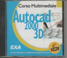 Start AutoCad 2000 3D. Corso multimediale - CD-ROM di De Stephanis Anna EXA