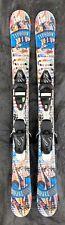 105 cm Elan Axis Typhoon twintip skis with Tyrolia LRX 4.5 bindings