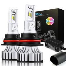 JDM ASTAR 9007 LED Headlight Kit HB5 72W 8000LM 7TH Beam Bulbs 6000K HID Replace