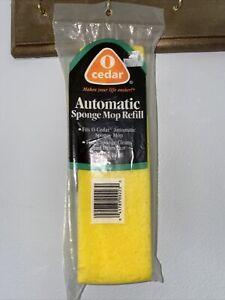 Vintage O Cedar Big Automatic Sponge Mop Refill Replacement Item #223
