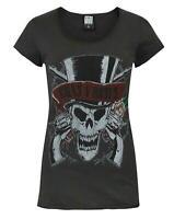 Amplified Guns N Roses Deaths Head Women's T-Shirt
