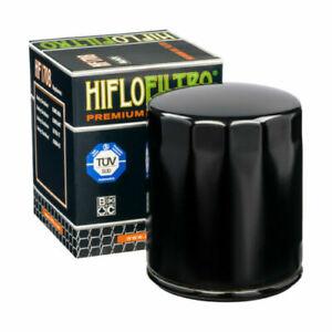 Hiflofiltro Negro Filtro de Aceite Para Harley Davidson XL1200 (1996 A 2019)