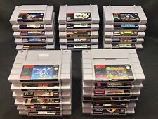 Super Nintendo Games Lot Authentic SNES ~Tested~ No Repros