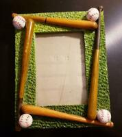 "Unique Baseball Picture Frame 3"" x 4 3/4"" (3""x 5"")"