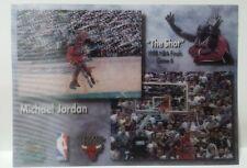 1998 Upper Deck Authenticated Michael Jordan 3D Hologram NBA Finals The Shot 5X7