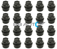 20 NEW BLACK LUG NUT COVERS CAPS CHEVY GMC SILVERADO 1500 2500 FULL SIZE TRUCK