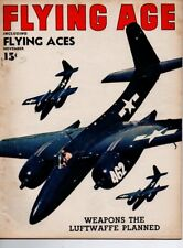 "Flying Age Magazine November 1945 Vol.51 No 4 ""Weapons the Luftwaffe Planned"""
