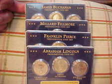 2010 First Day Of Issue Presidential Coin Sets P, S & D (12) coins