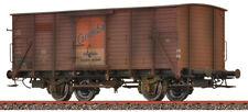"""Brawa 49859 Spur H0 Gedeckter Güterwagen G10 """"Caramba"""" der DB, patiniert"""