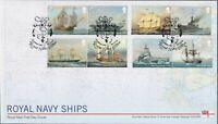 2019 - Royal Navy Ships FDC - ,Portsmouth (Anchor) Pmk - Post Free