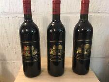 3 bouteilles Château de Lescours Saint Emilion grand cru  Millésime 1994