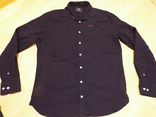 N.Z.A Shirt Size Medium/Large in blue good condition New Zealand Auckland