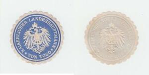 Kolonien Kaiserlicher Landeshauptmann De Togo ( Sello Marca ) ca.1898 66763