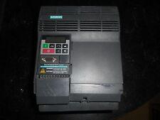 "Siemens 6SE3221-0DC40 Micromaster  5HP Drive ""Damages Case"""