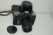 Zenit-B Vintage 1973 Soviet SLR Camera. RARE Black Body Version. 7300503 UK Sale