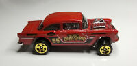 HTF Hot Wheels '55 CHEVY BEL AIR GASSER-Drag Strip 5-Pack Car Meet *MINT* Car
