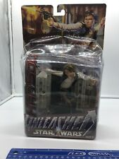 New Star Wars Unleashed Han Solo Action Figure Collectible 2003 Hasbro 7 ""