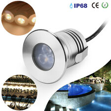 3W IP68 LED Underwater Lights Fountain Pond Lighting Spotlight Waterproof Lamps