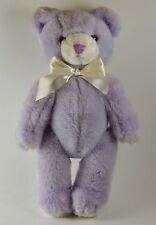 "SCHMID Musical Bear 14""  Purple Vintage 1984"