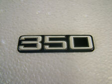 YAMAHA  RD350/A '73 -'74 SIDE COVER BADGE