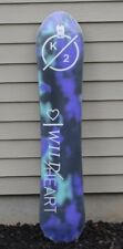2018 NWT WOMENS K2 WILDHEART 151 SNOWBOARD $500 151 CM tapered directional
