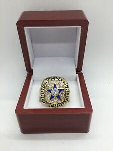 1971 Dallas Cowboys Roger Staubach Super Bowl Championship Ring Set GOLD