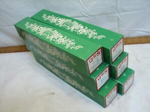 6 QRS Christmas Carol Player Piano Rolls Songs with Boxes Jingle Bells Rudolph