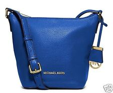 Michael Kors Tasche/Bag Bedford SM TZ Messenger Shoulder Bag  Electric Blue NEU!