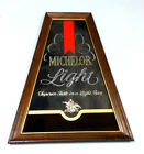 Michelob beer sign mirror Light vintage bar signs 1 Anheuser-Busch Brewery GP51