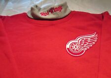 Detroit Red Wings Youth Sweat Shirt XL Turtleneck  NHL Majestic 50/50
