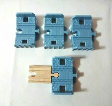 Thomas & Friends Wooden Railway Track to Trackmaster - 4x Converters/Risers Brio