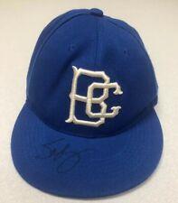 Brooklyn Cyclones Baseball Cap Hat Signed Sandy The Seagull Adjustable Snapback