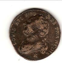 LOUIS XVI 12 DENIERS 1792 K = BORDEAUX TB a TTB cote 180 euro TTB