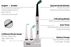 New Kyoui Ultrasonic toothbrush, Sonic 3000