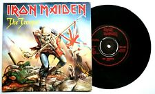 "EX/EX IRON MAIDEN 1983 THE TROOPER b/w CROSS EYED MARY 7"" VINYL 45 (EMI 5397)"