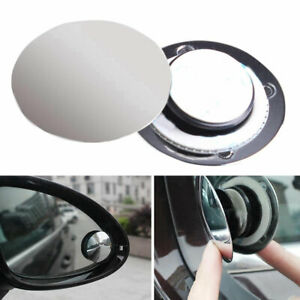 UK_ FP- KE_ 360 Degrees Ultra-thin Car Adjustable Blind Spot Convex  Rearview Mi