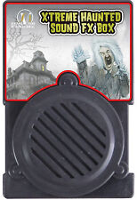 HALLOWEEN XTREME HAUNTED SOUND FX BOX PROP DECORATION HAUNTED HOUSE CEMETARY