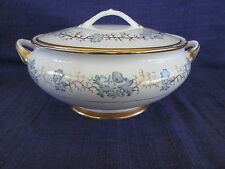Avondale Tuscan COVERED SERVING BOWL- 1947 Vintage (England)